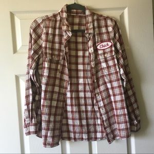 Tops - Chick Flannel Shirt NWOT